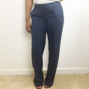 The Limited Navy Blue Cassidy Fit Dress Pant
